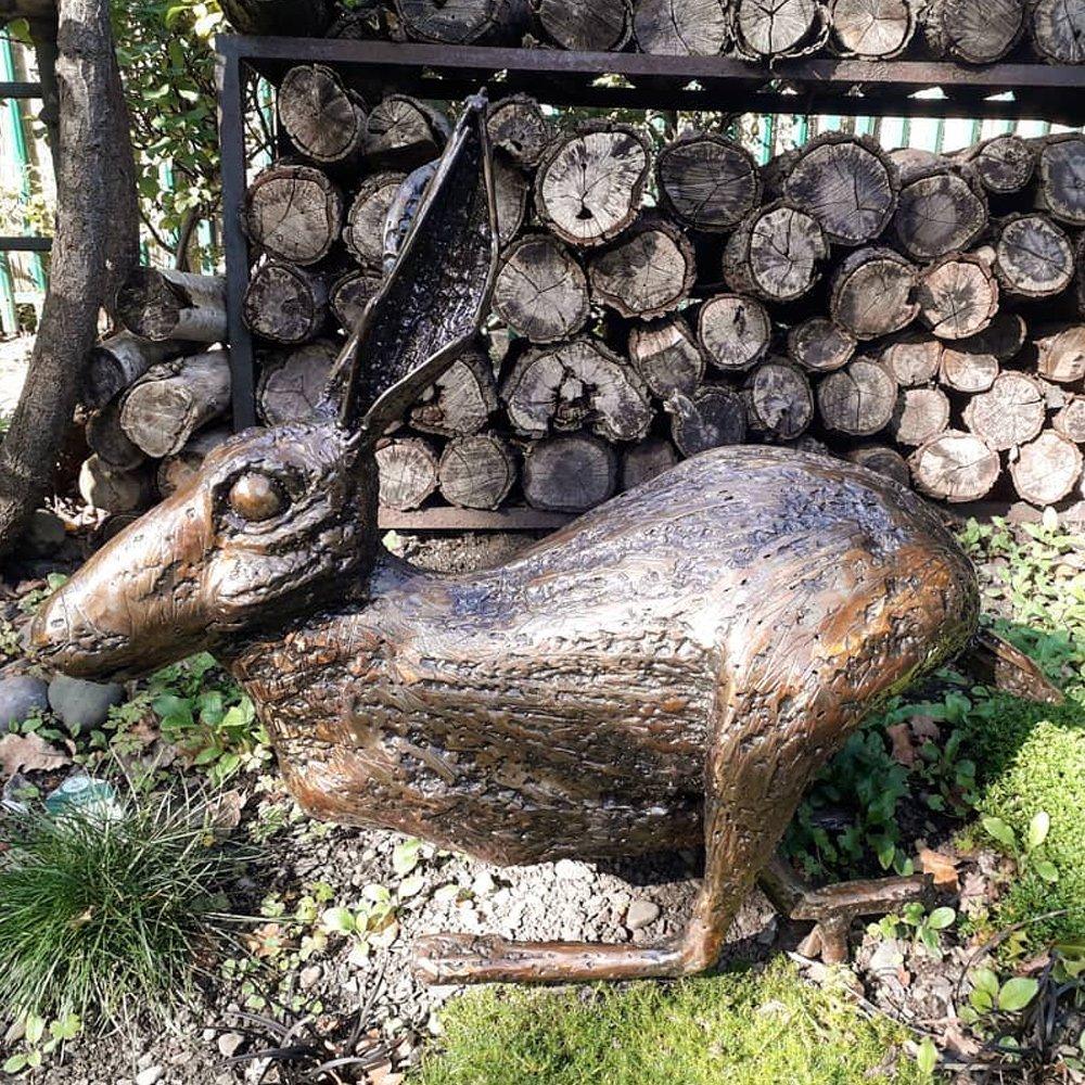 Hare Sculpture Alfie Bradley