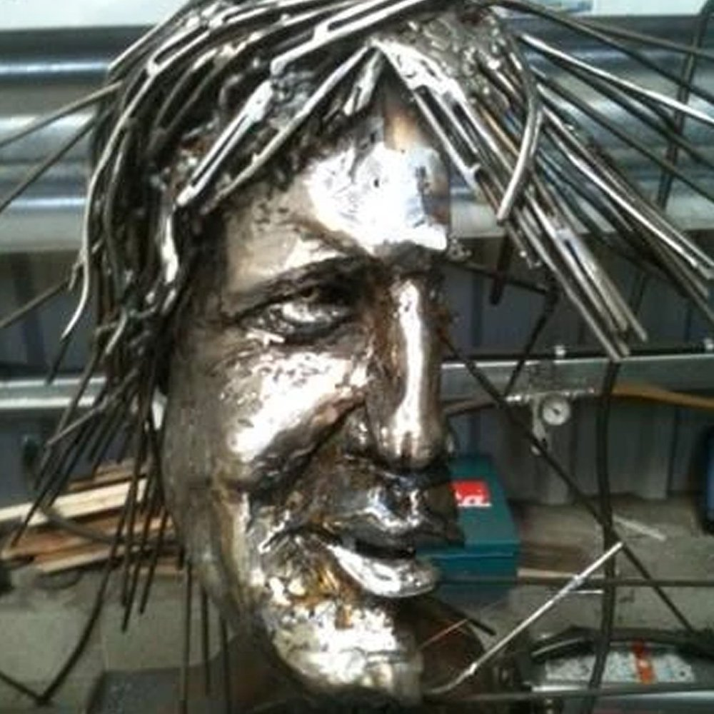 Boris Johnson Sculpture Alfie Bradley