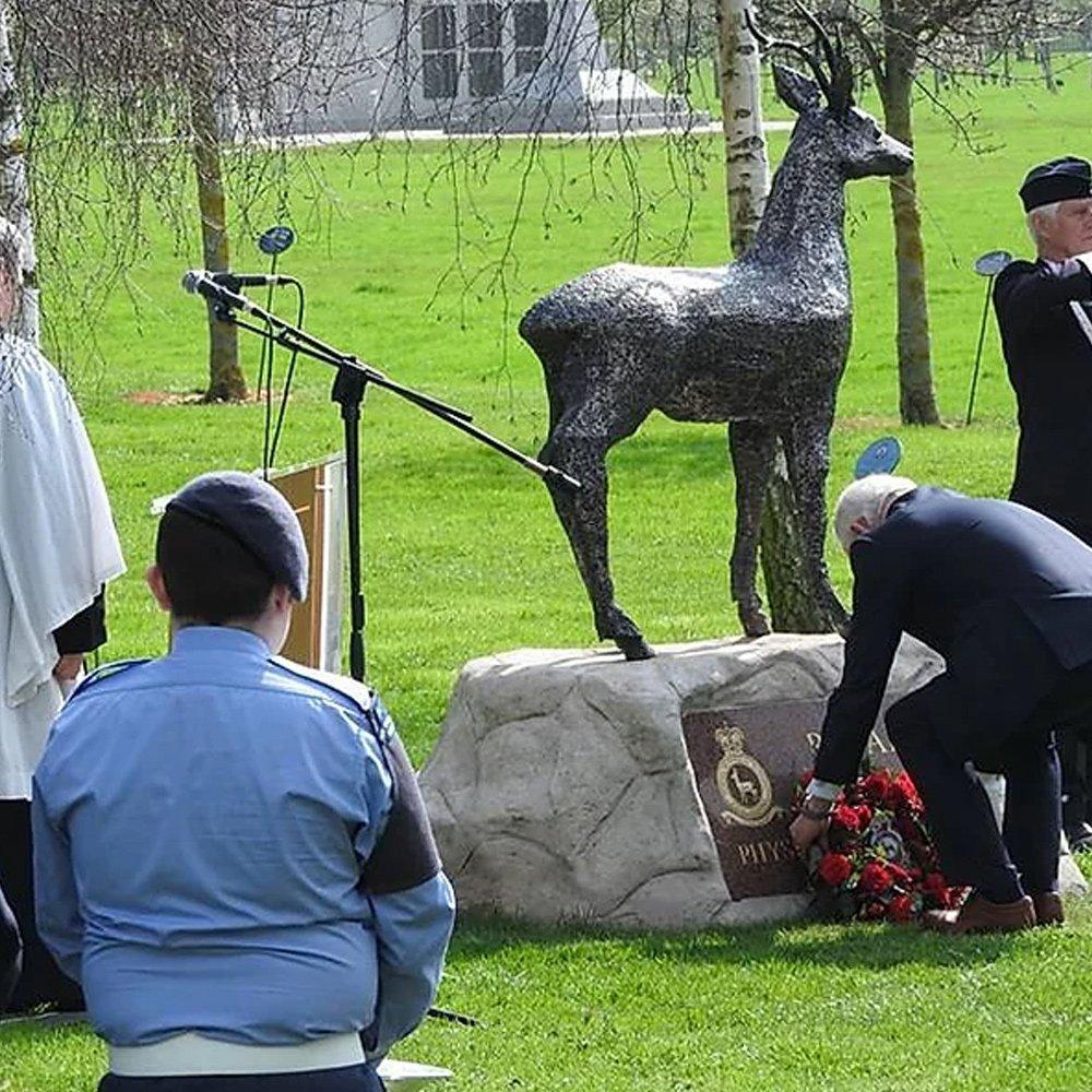 RAF Memorial Roebuck Alfie Bradley