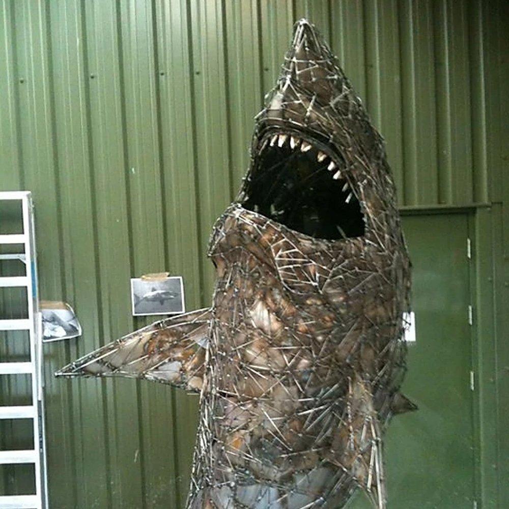 Shark Sculpture Alfie Bradley