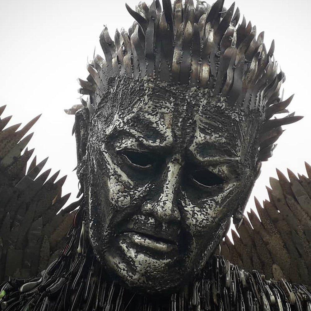 Richard Branson Sculpture Alfie Bradley